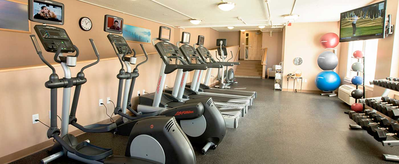 Fitness Center at the Wylie Inn and Conference Center